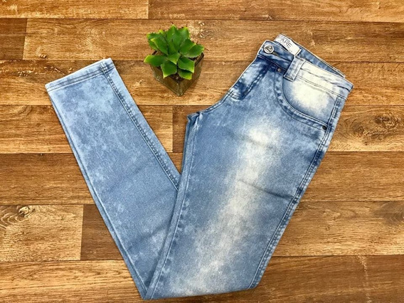 Calça Jeans Claro Feminina Uzare Slim Original