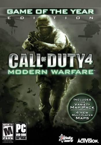 Call Of Duty Modern Warfare 4 Pc Midia Física+crack+serial