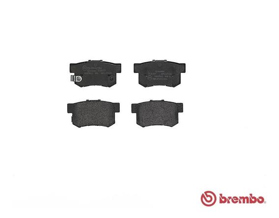 Juego Balatas Ceramicas (t) Brembo Honda Accord Ex-r 02