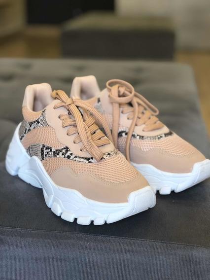 Sneaker- Animal Print- Queridinhos De Todas As Estações