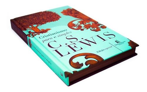 Cristianismo Puro E Simples Livro  C. S. Lewis Capa Dura