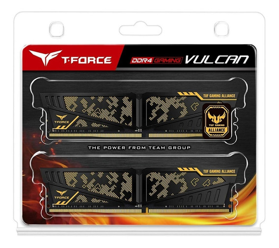 Memoria Team Ddr4 16gb 2x8 3600mhz Vulcan Tuf Gaming