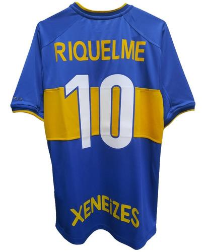 Camiseta De Boca Juniors Año 2000 Riquelme.