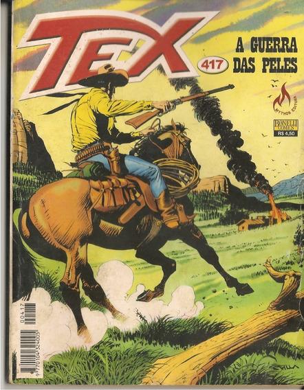 Hq Tex Willer Nº417 A Guerras Das Peles Mythos Editora