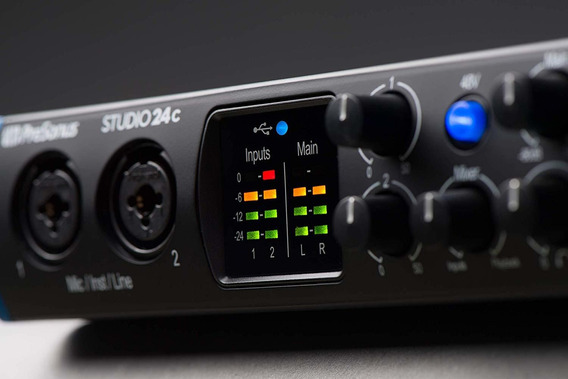 Presonus Studio 24c - Sellado..! Audio Interface