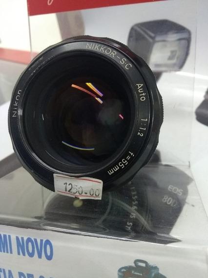 Objetiva Nikon 55 Mm 1.2