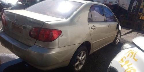 Sucata Toyota Corolla Xei 1.8 Aut 2003 Peças Diversas