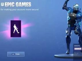 Baile Exclusivo Fortnite