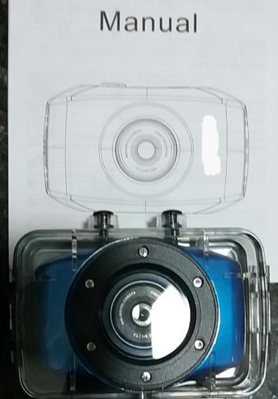 -câmera Portátil Go Pro Nova, Completa E Acessórios.