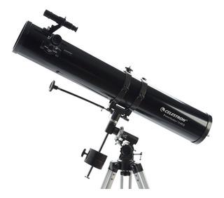 Telescopio Celestron Powerseeker 114x900 Montura Ecuatorial