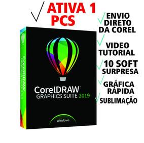 Licença Original Corel Draw 2019 +5 Anos De Garantia