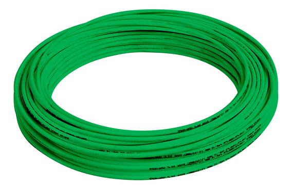 136920 Cable Eléctrico Tipo Thw-ls/thhw-ls Cal12 100m Verde