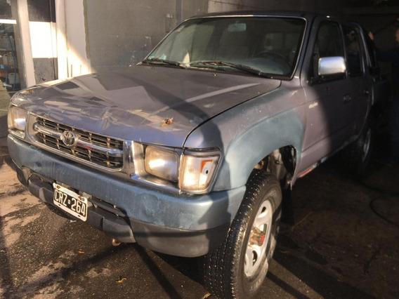 Hilux 1998 4x4 Gnc 120 Km Detalles Chapa Pintura $450.000