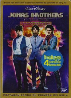 Jonas Brothers Concierto 3d Version Extendida Pelicula Dvd