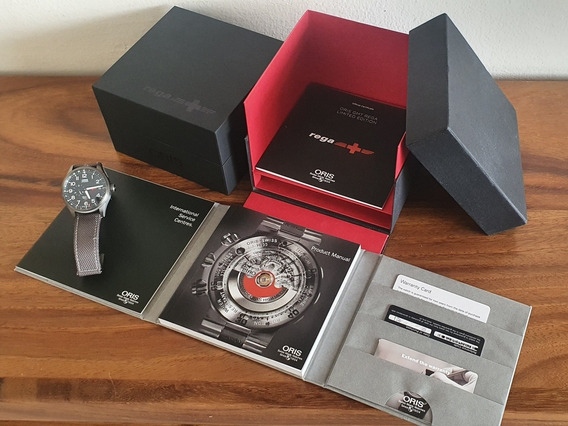 Oris Pro Pilot Rega Limited Edition Full Set