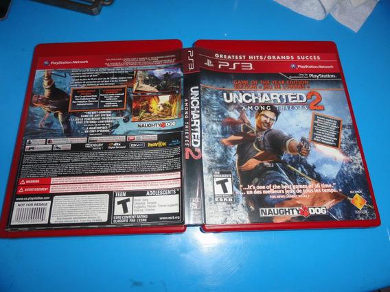 Uncharted 2 Ps3 Midia Fisica Original Americano