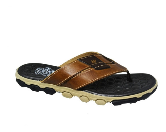 Chinelo Masculino West Coast - Castanho