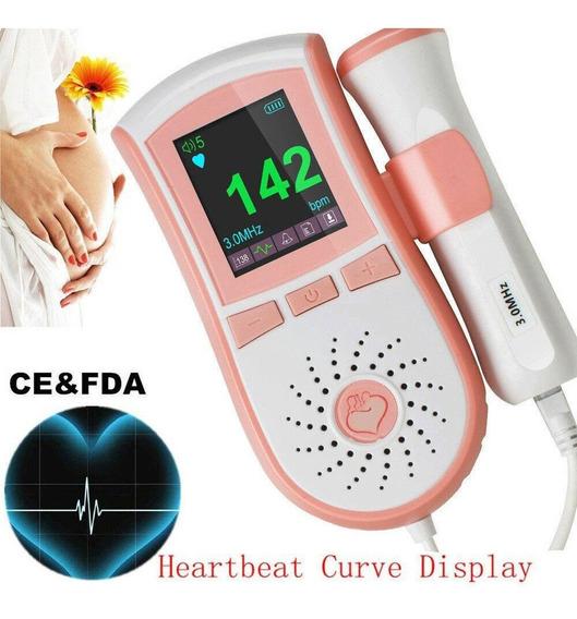¡nos! Corazón Fetal Detector Bebé Sonido Doppler Fetal -8616