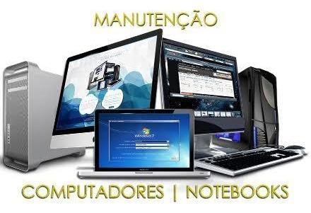 Manutenção De Computadores E Notebooks Etc.