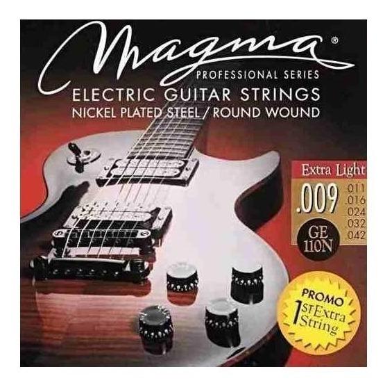 Magma Ge110n Cuerdas Para Guitarra Electrica Encordado