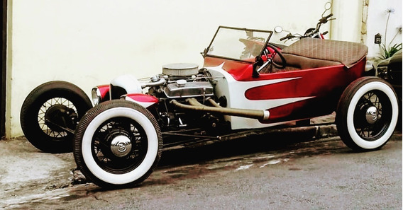 Hot Rod Ford 1922 T Bucket V8 Automatico Cambio Power Glide
