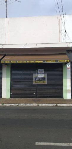 Salão Comercial Para Locação Com 40 M² - Centro - Sumaré/sp - Sl0697
