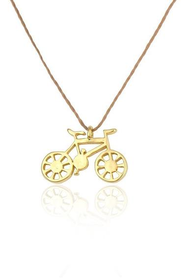 Bicicleta Banhado À Ouro