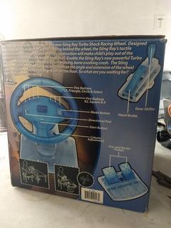 Volante Stingray Turbo Shock Para Ps1 Y Ps2