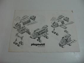 Playmobil Trol Manual Original Ônibus Espacial Lunar Espaço