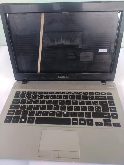 Carcaça Original Notebook Samsung Np370e4j Comp. Conservado