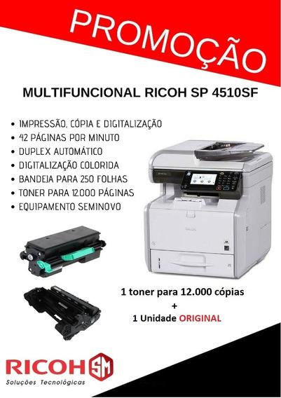 Multifuncional Ricoh Sp 4510sf