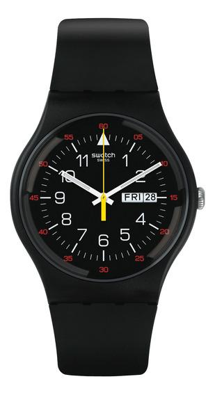 Relógio Swatch Yokorace Preto Unissex Suob724