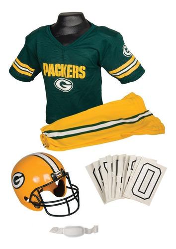 Uniforme / Disfraz De Nfl Green Bay Packers Para Niños