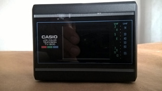 Tv Portatil Casio Tv500v
