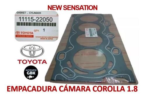 Empacadura Camara Toyota Corolla 1.8 2003-2008 Amianto