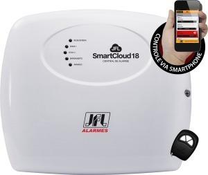 Kit Alarme Jfl Sem Fio Completo Com Com 3 Sensores Presença