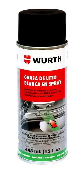 Grasa De Litio En Spray Blanca Wurth