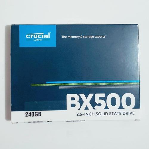 Hd Crucial Ssd Bx500 240gb 2.5 N-f