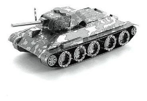 Figura Para Armar En Metal!! Tanque T-34- Modelismo
