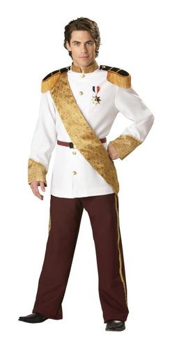 Disfraz De Rey Principe Encantador Cenicienta P/ Adultos 8