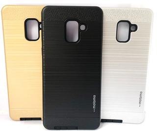 Película De Vidro Samsung Galaxy A8+ Plus 2018 + Capa Case