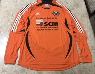 Camisa Rara adidas Shakhtar Donetsk Uefa Jogo Celtic 2007