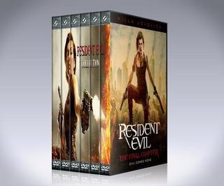 Resident Evil - Colección Completa Dvd / Saga 123456