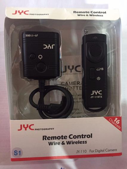 Controle Disparador Camera Jyc Wire&wireless