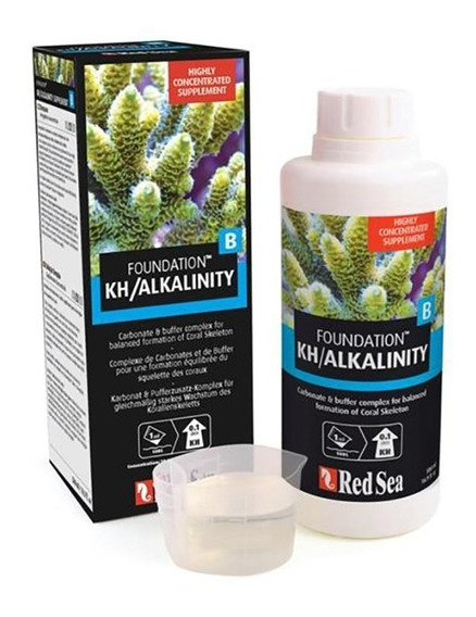 Suplemento Reef Foundation B Kh/alcalinizante 500ml Red Sea