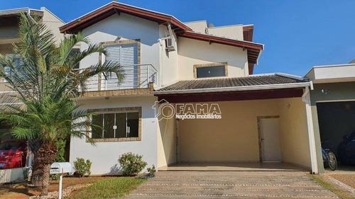 Casa Com 3 Dormitórios À Venda, 200 M² Por R$ 670.000,00 - Condomínio Campos Do Conde 1 - Paulínia/sp - Ca1345