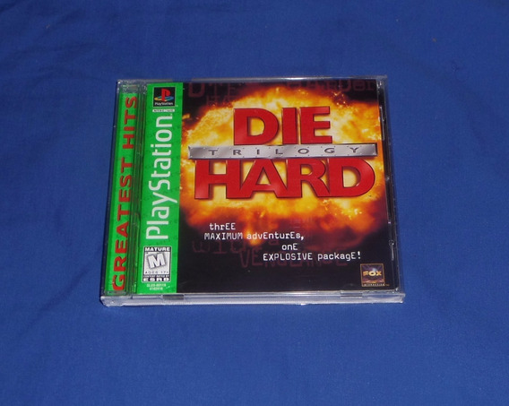 Die Hard Trilogy Original Ps1 Excelente Estado