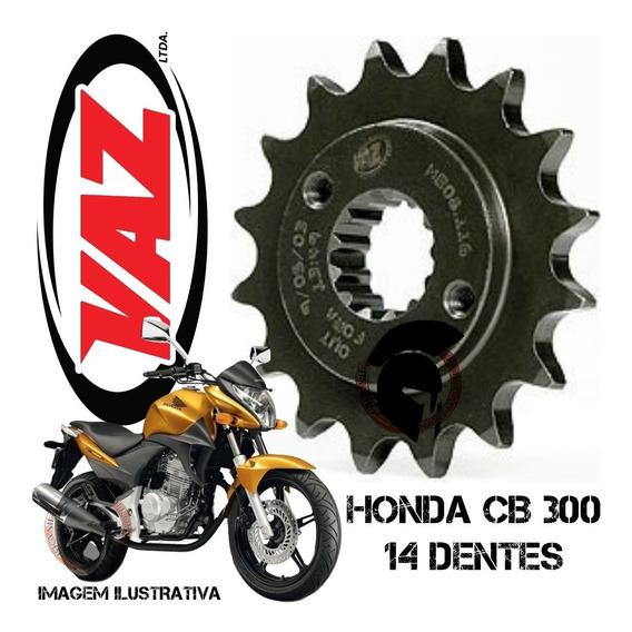Pinhao 14 Dentes Cb300/xre300 Aço 1045 - Vaz 114
