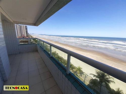 Imperdível!  Frente Ao Mar. 02 Dormitório Sendo 01 Suite- Bairro Jardim Imperador Em Praia Grande. - Ap6475