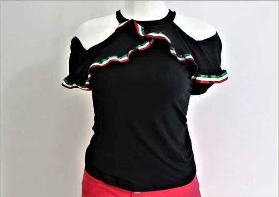 Lote X10 Blusas Mexicanas Campesinas Con Listones